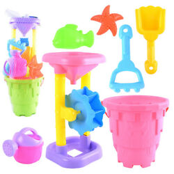 1 Set Funny Creative Sand Playing Toys Beach Toy Kit For Children Kids