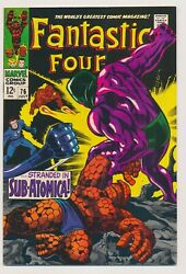 Fantastic Four 76 1968 Written By Stan Lee And Drawn Jack Kirby.. App Galactus