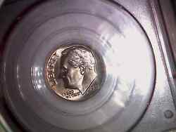 1982 No P Mint Stamp Roosevelt Dime In Pcgs Holder Ms 65 Strong