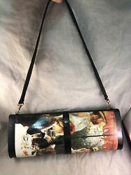 Vintage Breeke Renoir Luncheon Of The Boating Party Magazine Clutch Purse Bag $49.99