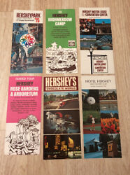 1975 Hersheypark Brochure Camp Motor Lodge Guide Tour Hotel Country Club Lot