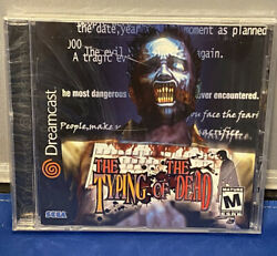 Typing Of The Dead Sega Dreamcast 2001 Brand New / Factory Sealed