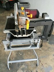 Chicago Electric 2.5 Hp 10 Industrial Tile W/ Stand