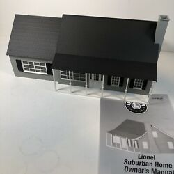 Lionel Large Suburban House Home Toy Train O Gauge Accessory Layout