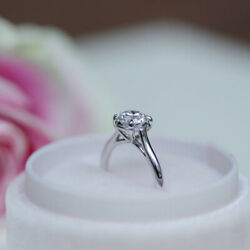 Natural Diamond Engagement Ring For Women 950 Platinum 0.50 Ct Size 5 6 7 4.5 8