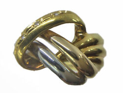 Fashion Ring Combination No. 12 D0.02ct Ring 750 Gold K18 Pt900 3103178-22k