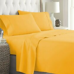 100 Cotton Gorgeous Gold Bedding Collection 1000 Tc Select Item And Pattern