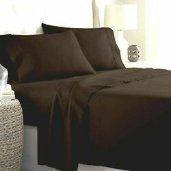 100 Cotton Gorgeous Chocolate Bedding Collection 1000 Tc Select Item And Pattern