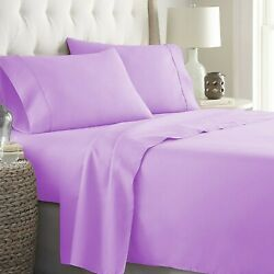 100 Cotton Gorgeous Lavender Bedding Collection 1000 Tc Select Item And Pattern