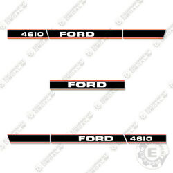 Ford 4610 Decal Kit Tractor - 7 Year 3m Vinyl