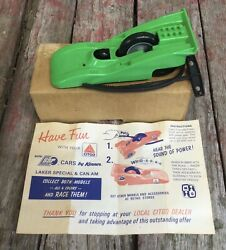 Vintage Nos Citgo Gas Station Promo Advertising Ssp Friction Toy Race Car In Box