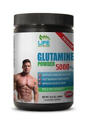 Glutamine Workout - Glutamine Powder 5000mg 60 Servings - Muscle Recovery 1b