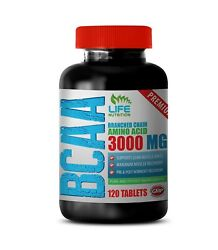 Pre Workout Energy - Premium Bcaa 3000mg - Muscle Recovery Supplement 1b