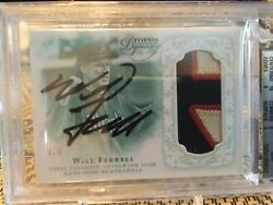 Will Ferrell 2015 Topps Dynasty Auto Patch Emerald 3/5 Bgs 9 W/10 Centering Rare