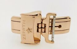 Zenith 18k Rose Gold Deployant Clasp Buckle 18 Mm