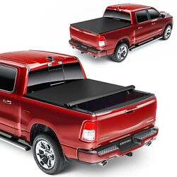 For 2016-2021 Toyota Tacoma 6 Ft Short Bed Truck Soft Top Roll-up Tonneau Cover