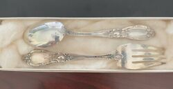 Vintage Towle King Richard 925 Sterling Silver 4 Piece Place Setting