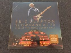 Eric Clapton Slowhand At 70 Live At The Royal Albert Hall New 3lp And Dvd Sealed