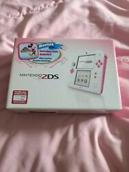 Brand New Nintendo 2ds Peach Pink Disney Mickeyandrsquos Magical World Limited Edition