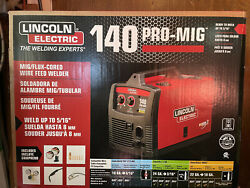 Lincoln Electric 140 Pro-mig Mig/flux Corded Wire Feed Welder, K2480-1 Nib