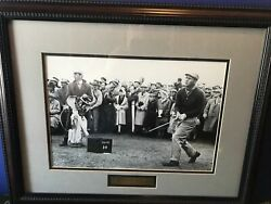 Arnold Palmer 1960 St. Andrews Tenth Hole Panoramic Picture Print Custom Framed
