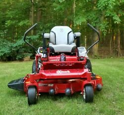 """Exmark Zero Turn Mower 52"""" / With Only 82 Hours"""