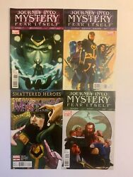 Journey Into Mystery Fear Itself Loki 4 Issue Lot 623 628 630 631 Combined Ship