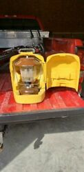 Vintage 1970and039s Coleman Lantern Model 275 With Yellow Carrying Case New