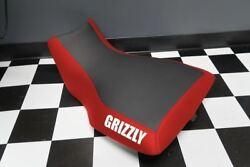 Yamaha Grizzly 660 Red Sides Logo Seat Cover Yz91kya91