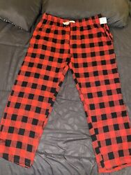 Nwt Nordstrom Outdoorlife Mens Red Plaid Pants Size L $14.00