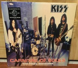 Kiss Carnival Of Souls 2014 Edition Lp Vinyl Sealed Excellent Condition