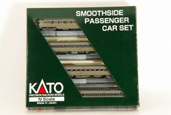 Kato N Scale 106-1005 Southern Pacific-1 Smoothside Passenger 4car Set Set A