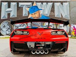 Zr1 Style Carbon Fiber Rear Wing Spoiler For 2015-2019 Corvette C7- For Gs And Z06