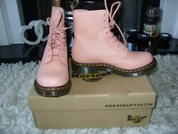 Dr Martens Boos Pascal Soft Leather Salmon Pink 6 - Brand New In Box