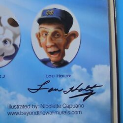 Coach Lou Holtz Signed - Notre Dame Beats Miami 2012 Hardcover Childrenand039s Book
