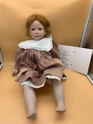 Ruth Treffeisen Porcelain Artistic Doll 22in Limited 68/100 - Top Condition