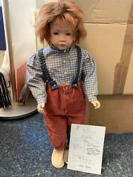 Rosa Adami Porcelain Artistic Doll Fritz 25 3/16in Top Condition