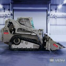 Lesu 1/14 Rc Scale Metal Hydraulic Aoue-lt5 Tracked Skid-steer Loader Model