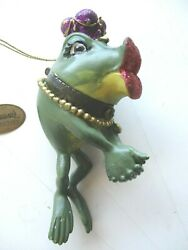 Katherineandrsquos Collection Gifts Kissing Frog Christmas Ornament Trinket Box