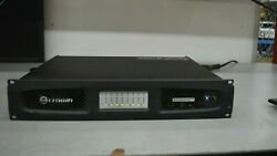 Crown Audio Dci8300 Drivecore Install Series Network Amplifier