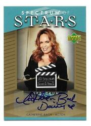 Catherine Bach 2007 Ud Spectrum Of Stars Autograph Auto Super Rare Signed Daisy