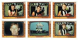 Scanlens 1967 Vfl Footy Cards X 6 Collingwood Magpies Team Set Exc