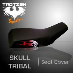 Yamaha Grizzly 660 02-03 Skull Tribal Seat Cover Tts2319sep2319