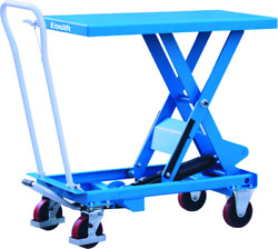 Manual Scissor Lift Tables For Warehouse Home Lifting Transporting Loads