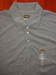 New The Foundry Supply Co Mens Gray Polo Shirt 3XLT A Must Have Buy it SHIPSFAST