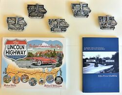 5 Xl Lincoln Highway Belt Buckle Sterling Silver Limited Edition 7 Of 10 Total