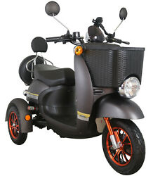 New 3 Wheeled 60v100ah 600w Electric Mobility Scooter Free Delivery Green Power