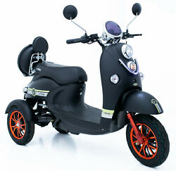 Electric Mobility Scooter 60v100ah 600w Free Engineered Delivery By Green Power