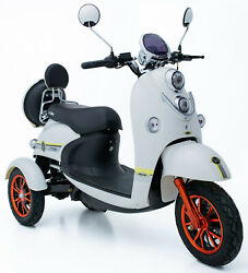 New 3 Wheeled 60v 100ah 500w Electric Mobility Scooter Free Delivery-green Power