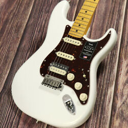 Fender American Ultra Stratocaster Hss Maple Arctic Pearl Electric Guitar